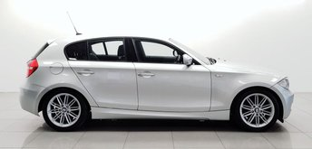 2010 BMW 1 SERIES 2.0 118D M SPORT 5d 141 BHP £5450.00