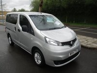 USED 2014 14 NISSAN NV200 1.5 DCI ACENTA COMBI 5d 90 BHP WAS £10,495 NOW ONLY£9,995 !!