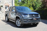 USED 2018 VOLKSWAGEN AMAROK 0.0 DC V6 TDI HIGHLINE 4MOTION 4d AUTO 222 BHP SAT NAV, HEATED SEATS, REVERSE CAMERA, EXCELLENT CONDITION THROUGHOUT!