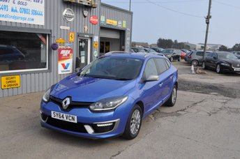 2014 RENAULT MEGANE 1.5 KNIGHT EDITION ENERGY DCI S/S 5d 110 BHP     57K £6500.00