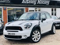 USED 2013 13 MINI COUNTRYMAN 2.0 COOPER SD ALL4 CHILI PACK