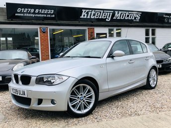 2009 BMW 1 SERIES 118i M SPORT 5 Door 2.0 Petrol £6495.00
