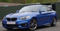 2016 BMW 2 SERIES 2.0 218D M SPORT NAV 2d 150 BHP £14995.00