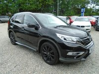 2016 HONDA CR-V 2.0 i-VTEC Black Edition 4x4 (s/s) 5dr £18695.00