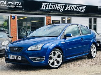2006 FORD FOCUS 2.5 ST-3 225 BHP 1 OWNER FROM NEW! £4995.00