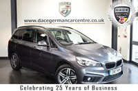 USED 2017 17 BMW 2 Series GRAN TOURER 2.0 220D SPORT GRAN TOURER 5DR 7SEATS 188 BHP full bmw service history  FINISHED IN STUNNING MINERAL METALLIC GREY WITH ANTHRACITE UPHOLSTERY + FULL BMW SERVICE HISTORY + SATELLITE NAVIGATION + BLUETOOTH + REAR VIEW CAMERA + CRUISE CONTROL + PARKING SENSORS + SPORT SEATS + CRUISE CONTROL + CD/USB/AUX MEDIA + DAB RADIO + PARKING SENSORS + 17 INCH ALLOY WHEELS