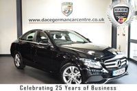 "USED 2015 15 MERCEDES-BENZ C CLASS 2.1 C220 BLUETEC SE 4DR 170 BHP full mercedes service history  FINISHED IN STUNNING OBSIDIAN BLACK WITH FULL BLACK LEATHER INTERIOR + FULL MERCEDES SERVICE HISTORY + SAT NAV PREP + BLUETOOTH + REAR VIEW CAMERA + CRUISE CONTROL  + DAB RADIO  + RAIN SENSOR + DIRECT START / ECO START/STOP FUNCTION + 17"" ALLOY WHEELS"