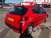 USED 2009 59 PEUGEOT 207 1.4 VERVE 5d 73 BHP *** ONLY 60,000 MILES *** 12 MONTHS WARRANTY ***
