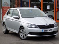 USED 2015 65 SKODA FABIA 1.0 MPI S 5dr ** Low Insurance + Full History **