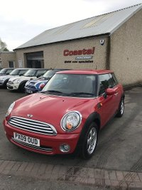 2009 MINI HATCH ONE 1.4 ONE 3d 94 BHP £4095.00