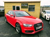 2014 AUDI A4 2.0 TDI BLACK EDITION 4d 174 BHP £12995.00