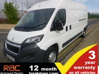 USED 2017 67 PEUGEOT BOXER LWB 335 L3 H2 Professional 130ps
