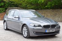 USED 2011 61 BMW 5 SERIES 2.0 520D SE TOURING 5d 181 BHP