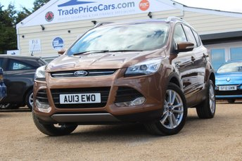 2013 FORD KUGA 2.0 TITANIUM X TDCI 5d 160 BHP £12495.00