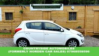 USED 2013 63 HYUNDAI I20 1.2 ACTIVE 5d 84 BHP Here we have an excellent Hyundai i20 in white. It comes with bluetooth, air conditioning, multi-function steering wheel, aux, iPod, USB, isofix and all four electric windows. It is in superb condition also with 15 inch alloy wheels.