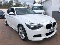 2012 BMW 1 SERIES 2.0 116D M SPORT 5d 114 BHP £9495.00