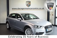 """USED 2016 16 AUDI A3 1.6 TDI SE TECHNIK 5DR 109 BHP full service history  *NO ADMIN FEES* FINISHED IN STUNNING METALLIC SILVER WITH ANTHRACITE UPHOLSTERY + FULL SERVICE HISTORY + SATELLITE NAVIGATION + BLUETOOTH + DAB RADIO + CRUISE CONTROL + HEATED MIRRORS + PARKING SENSORS + 17"""" ALLOY WHEELS"""