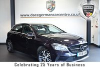 "USED 2016 16 MERCEDES-BENZ A CLASS 2.1 A 200 D SE EXECUTIVE 5DR 134 BHP full service history  *NO ADMIN FEES* FINISHED IN STUNNING NORTHERN LIGHTS METALLIC VIOLET WITH FULL BLACK LEATHER INTERIOR + FULL SERVICE HISTORY + SATELLITE NAVIGATION + BLUETOOTH + REAR-VIEW CAMERA + CRUISE CONTROL + HEATED SPORT SEATS + PARKING SENSORS + DAB RADIO + 16"" ALLOY WHEELS"
