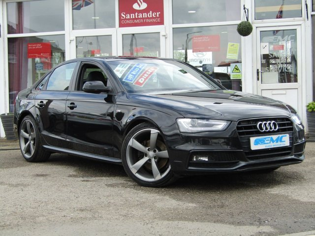 2013 13 AUDI A4 2.0 TDI BLACK EDITION 4d 141 BHP
