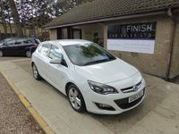 USED 2013 63 VAUXHALL ASTRA 1.6 SRI 5d 113 BHP * 1 KEEPER FROM NEW * FULL VAUXHALL SERVICE HISTORY * 2 KEYS *