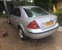 USED 2002 02 FORD MONDEO 2.0 LX 16V 4d 145 BHP