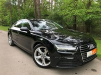 USED 2015 64 AUDI A7 3.0 SPORTBACK TDI ULTRA SE EXECUTIVE 5d 215 BHP SAT NAV BLUETOOTH HEATED MEMORY SEATS ELECTRIC TAILGATE