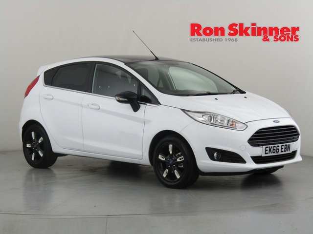 View our 2016 66 FORD FIESTA 1.0 ZETEC WHITE EDITION AUTUMN 5d 99 BHP