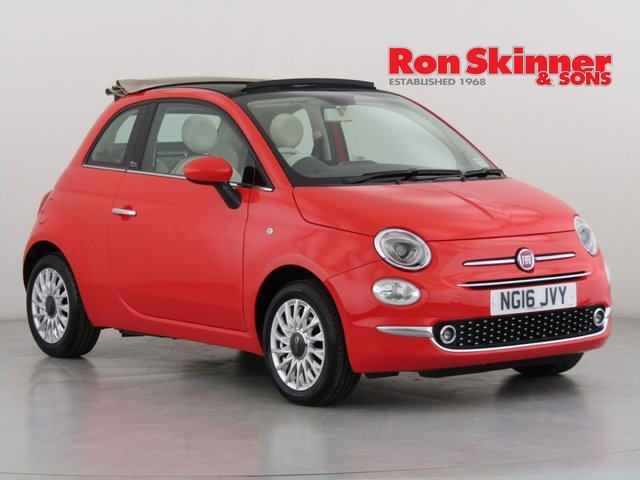 View our 2016 16 FIAT 500 1.2 C LOUNGE 3d 69 BHP