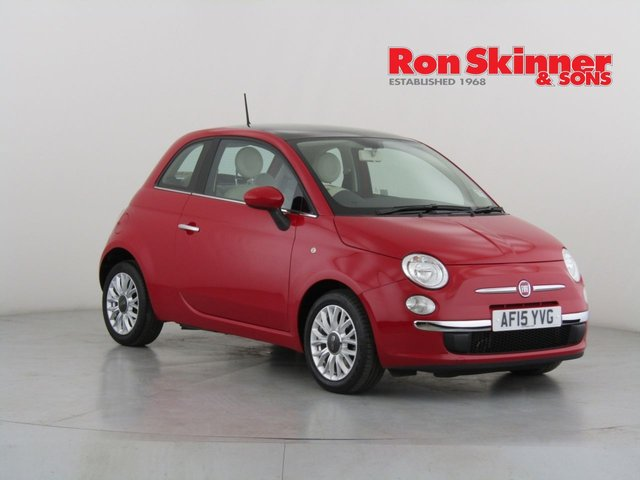 View our 2015 15 FIAT 500 0.9 TWINAIR LOUNGE 3d 85 BHP