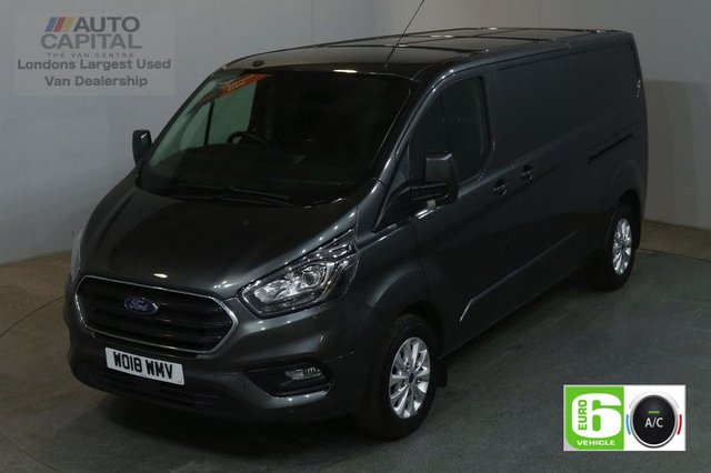 2018 18 FORD TRANSIT CUSTOM 2.0 300 LIMITED L2 H1 130 BHP LWB AIR CON EURO 6 VAN  AIR CONDITIONING EURO 6 LTD