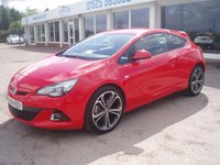 2014 VAUXHALL ASTRA 1.6 GTC LIMITED EDITION CDTI S/S 3d 108 BHP £6495.00