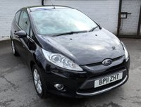 USED 2011 11 FORD FIESTA 1.2 ZETEC 3d 81 BHP * ONE PREVIOUS OWNER - F.S.H *