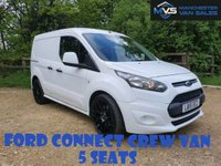 2015 FORD TRANSIT CONNECT 1.6 220 Dcb CREW VAN 5 SEATS 6d 95BHP M V SPORT KIT & ALLOYS £8250.00