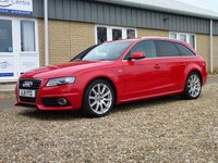 USED 2011 11 AUDI A4 2.0 AVANT TDI QUATTRO S LINE 5d 168 BHP www.suffolkcarcentre.co.uk - Located at Reydon