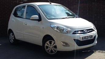 2013 HYUNDAI I10 1.2 ACTIVE 5d AUTO 85 BHP £6589.00