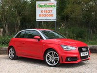 USED 2012 61 AUDI A1 1.4 TFSI S LINE 3dr AUTO Half Leather, FSH, Automatic