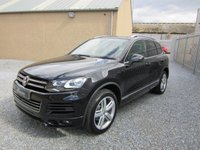 USED 2012 61 VOLKSWAGEN TOUAREG 3.0 V6 ALTITUDE TDI BLUEMOTION TECHNOLOGY 5d AUTO 242 BHP 1 PREV OWNER WITH A FULL VW SERVICE HISTORY JUST SERVICED