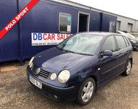 USED 2002 02 VOLKSWAGEN POLO 1.4 SPORT 5d 99 BHP NO DEPOSIT AVAILABLE, DRIVE AWAY TODAY!!
