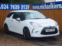 2010 CITROEN DS3 DS3 BLACK & WHITE HDI 90 £4495.00