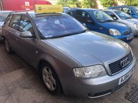 USED 2004 54 AUDI A6 1.9 TDI FINAL EDITION 5d 129 BHP
