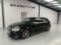 USED 2017 67 AUDI S3 2.0 S3 SPORTBACK QUATTRO 5d AUTO 306 BHP 1 Owner from new! 306 BHP!