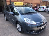USED 2008 58 CITROEN C4 GRAND PICASSO 1.6 VTR PLUS HDI EGS 5d AUTO 110 BHP