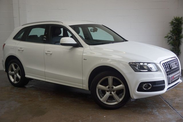 2011 11 AUDI Q5 2.0 TDI QUATTRO S LINE 5d 141 BHP FULL LEATHERS HEATED SEATS SOLD TO NICKI FROM   LINCOLNSHIRE