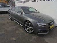 2012 AUDI A5 2.0 TDI QUATTRO BLACK EDITION 2d 175 BHP £16995.00