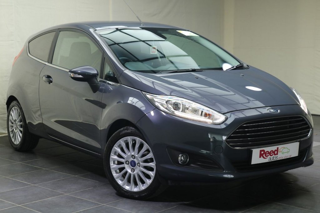 "USED 2015 64 FORD FIESTA 1.6 TITANIUM 3d AUTO 104 BHP 16""ALLOYS+CRUISE CONTROL+PARKING SENSORS+PRIV GLASS+CLIMATE CONTROL"