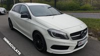 USED 2015 15 MERCEDES-BENZ A CLASS 2.1 A220 CDI AMG Night Edition 7G-DCT 5dr SAT NAV+LOW MILES+XENON+CAMERA