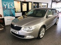 USED 2012 12 SKODA SUPERB 2.0 ELEGANCE TDI CR DSG 5d AUTO 140 BHP (L & K Pack) One private owner, full and complete service history at Skoda. Fitted Lauren & Klement pack !!!