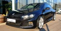 USED 2016 16 VOLKSWAGEN SCIROCCO 2.0 TDI BlueMotion Tech R-Line Hatchback 3dr SAT NAV+FULL LEATHER+HTD SEATS
