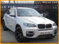 USED 2013 63 BMW X6 3.0 XDRIVE40D 4d 302 BHP *RARE PEARL SILVER, BIG SPEC, MUST SEE!*