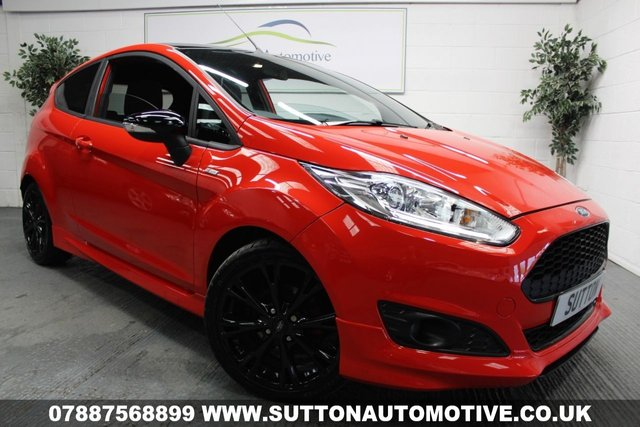 2016 66 FORD FIESTA 1.0 ST-LINE RED EDITION 3d 139 BHP